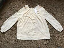 Mango Ladies Womens Blouse Style Top (Cream) Size Extra Large XL - BNWT