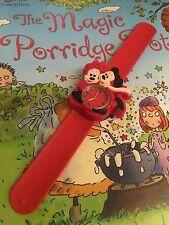 Reloj de Pulsera Calidad de Mickey y Mini Mouse Chicas Chicos Niños Correa fácil Rojo Slap qly