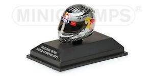 1:8 Minichamps Casco Helmet Arai Vettel Gp Sao Paulo 2012 WC F1 2012 381120201 M