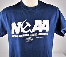 Funny Soviet Russian Smack T-Shirt Sz Small CCCP USSR Communist Sports Olympic