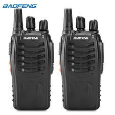2 un. Baofeng BF-888S Walkie Talkie Conjunto de Mano Doble Radio Transceptor Enchufe EE. UU.
