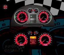 Audi TT 225-Quattro Roadster Speedometer dash bulb lighting upgrade dial kit