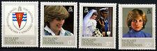 Falkland Islands Dependencies 1982 SG#108-111 Princess Of Wales 21st Set #D36954