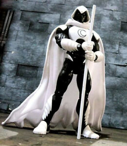 PP-C-MN: 1/12 Wired White Cape for Marvel Legends Moon Knight (No figure)