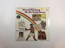 MUHAMMAD ALI Adventures Of Ali Vs. Mr. Tooth Decay LP ALI-1 '76 M Sealed! 13G/Q