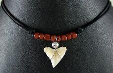 TIGER SHARK TOOTH PENDANT necklace ; GA070