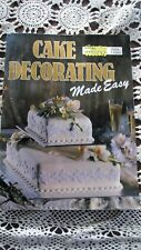 Vintage The Australian Womens Weekly Cake Decorating Made Easy Cookbook 1993