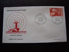 COTE D IVOIRE - enveloppe 1er jour 13/12/1969 (B2) (T)