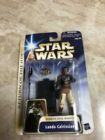 Lando calrissian Star Wars Action Figure HOLOGRAPHIC JABBA'S PALACE Return Jedi