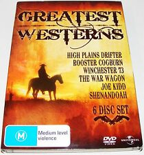 GREATEST WESTERNS ---( Dvd 6 Disc Set )