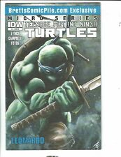 Teenage Mutant Ninja Turtles # 4 VF/NM Leonardo Micro Series 1 Of 100 IDW J289