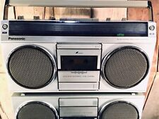 Rare Vintage Panasonic Rx-4940 Radio Stereo Boom Box Music Jamming Portable