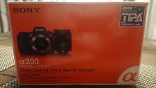 Sony Alpha DSLR-A200 10.2MP Digital SLR Camera - (Kit w/ DT 18-70mm Lens) - MINT