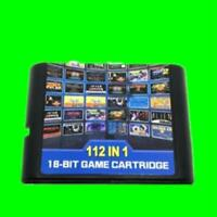 112 in 1 For SEGA GENESIS MegaDrive 16 bit Game Cartridge For PAL and NTSC Drop