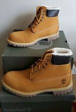 NEW TIMBERLAND® 6-IN PREMIUM WATERPROOF FUR LINED BOOTS US 13