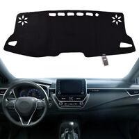 Black Inner Dashboard Cover Dash Mat Sun Cover Pad For Toyota Corolla 2019 2020