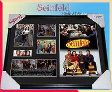 ON SPECIAL!!  SEINFELD MEMORABILIA FRAME SIGNED,  LIMITED EDITION 499 WITH C.O.A