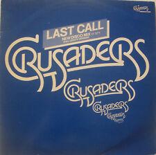 "CRUSADERS ~ Last Call / Honky Tonk Strutting ~ 12"" PS"