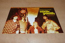 SONIC YOUTH - SCREAMING FIELDS RARE FRENCH FLYER!!!!!!!