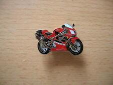 Pin Anstecker Honda VTR1000 / VTR 1000 SP-1 rot red Motorrad 0764 Motorbike Moto