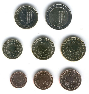 Holland 2011 - Set of 8 Euro Coins (UNC)