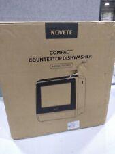 Novete Compact Countertop Dishwasher Tdqr01