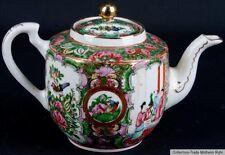 China 20. Jh. Teekanne - A Chinese Jingdezhen Canton Teapot - Cinese Chinois