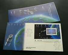 Malaysia East Asia Satellite -MEASAT 1996 Space Astronomy Halogram (FDC) unusual