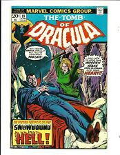 TOMB OF DRACULA # 19 (BLADE VAMPIRE BLOOD ISSUE, APR 1974), VF+