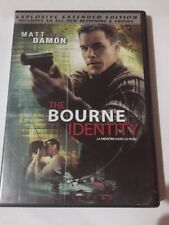 The Bourne Identity (DVD, 2004, The Explosive, Extended Edition - Full Frame)