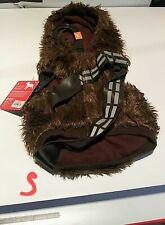 NEW Star Wars Chewbacca Dog Hoodie Costume by Rubie's Size SMALL