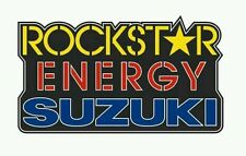 Pegatina Adhesivo Sticker Rockstar Energy Suzuki14 CMS Aufkleber Autocollant