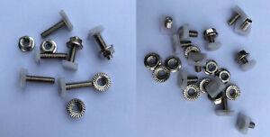 Ford XD XE Fairmont Ghia S pac ESP chrome retainer clips. Package deal!