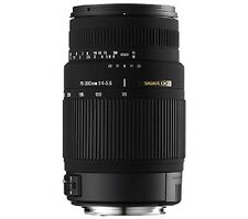 Sigma 70-300mm f/4-5.6 DG Macro Telephoto Zoom Lens for Canon Manual & Autofocus