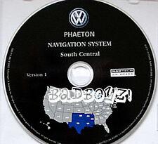 2004 05 06 VW VOLKSWAGEN PHAETON NAVIGATION DISC CD S CENTRAL MAP OK TX AR LA MS