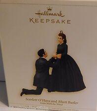 Hallmark Keepsake Scarlett O'Hara Rhett Butler Proposing Ornament 2006 Orig Box