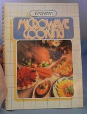 "1985 Sears ""Kenmore Microwave Cooking"" Cookbook: Hardcover Spiral 192pp."