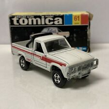 Mint Condition Tomica No.61 White Toyota Hilux 4WD New In Ok Condition Box RARE