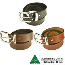 Australian Made Genuine leather Belts 35 MM