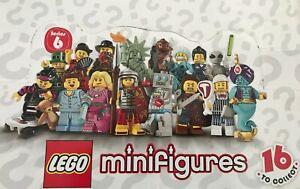 Lego 8827 Mini figures Series 6