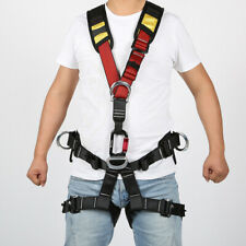 Professional Outdoor Body Safety Rock Climbing Tree Rappelling Harness Seat Belt