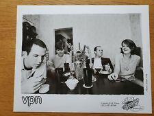 VPN Evil Teen Records 8x10 BLACK & WHITE Press Photo 90's INDIE POP ROCK BAND