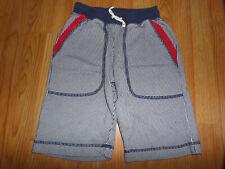 NWT Hanna Andersson Boys 140 10 Navy Blue Rib Waist Explorer Canvas Shorts $48