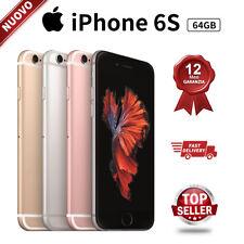 Nuovo Apple iPhone 6s 64GB Grigio Siderale Oro Rosa Oro Silver Smartphone 24Mesi