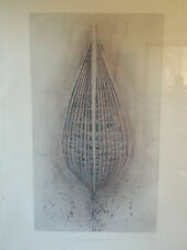 """Robert Stackhouse """"Sources and Structures 3"""" - Etching - Art Framed - Beautiful"""