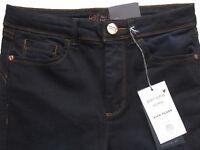 New Womens Marks & Spencer Per Una Blue Kick Flare Jeans Size 16 14 10 Reg Short