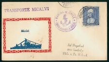 Mayfairstamps Chile 1950s Transporte Micalvi Armada Cover wwp81933