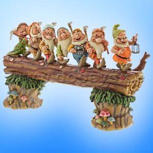 "Disney Traditions ""A Good Day's Work"" (7 Zwerge Baumstamm sehr groß) - Jim Shore"