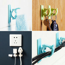 New 4 x Cable Clips Adhesive Cord Management Organizer Wire Holders ClampLWC
