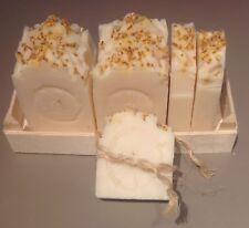 GLYCERIN SOAP ORANGE 100% NATURAL HANDMADE CHEMICALS-FREE BIODEGRADABLE
